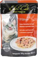 Корм Edel Cat з печінкою та кролем у соусі 100 г