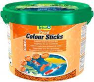 Корм Tetra Pond Colour Sticks 10 л