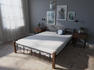 Кровать MELBI Элизабет Двуспальная 160*190 см Черный (КМ-005-02-3чер)