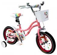 Велосипед детский Like2bike Fly розовый 201402