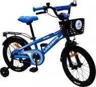 Велосипед дитячий Like2bike Dark Rider 16'' синьо-чорний 201602