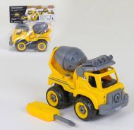 Бетономешалка-конструктор со звуковыми эффектами Play Smart 1354 28 деталей Желтая (2-79330)