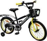 Велосипед дитячий Like2bike Dark Rider чорний із жовтим 201806