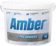 Краска Amber Amber Polarweiss белый 10л