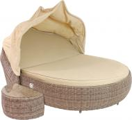 Комплект меблів Cruzo Sunbed set 145х192 см коричневий