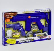 Игровой набор полиции Small Toys 34110 со звуковыми эффектами Синий (2-75152)