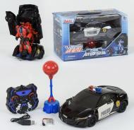 Машина-трансформер Полиция на радиоуправлении JAKI TT688 Автобот-боксер (2-78757)