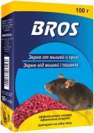 Родентицидний засіб від гризунів BROS зерно 100 г