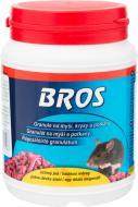 Родентицидний засіб від гризунів BROS в гранулах 500 гр
