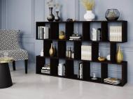 Полка для книг  Стеллаж для дома на 14 ячеек Rimos 1776х1072х300 мм Венге (Z-9_V)