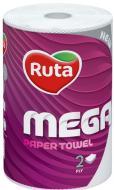 Паперові рушники Ruta Mega двошаровий 1 шт.