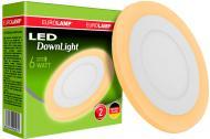Світильник точковий Eurolamp 6 Вт 4000 К білий LED-DLR-6/4(orange)