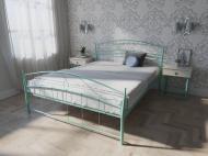 Кровать MELBI Селена Двуспальная 180*190 см Бирюзовый (КМ-022-02-11бир)