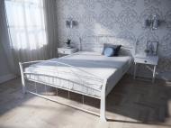 Кровать MELBI Селена Вуд Двуспальная 120*190 см Белый (КМ-008-02-5бел)