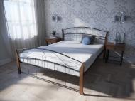 Кровать MELBI Селена Вуд Двуспальная 120*200 см Черный (КМ-008-02-6чер)