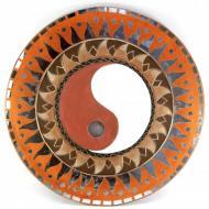 Зеркало мозаичное Arjuna Инь Янь d-50 cм 29694 Оранжевый (45496)