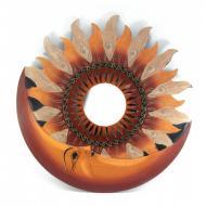 Зеркало мозаичное Arjuna Солнце и Луна d-50 cм 30244 Разноцветный (45516)