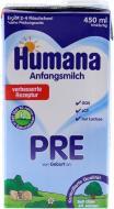 Суміш молочна рідка Humana PRE 450 мл 4031244791849