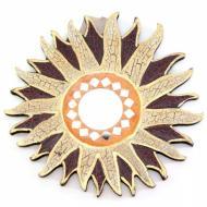 Зеркало мозаичное Arjuna Солнце d-20 cм 30287 Разноцветный (45517)