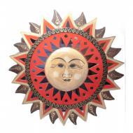Зеркало мозаичное Arjuna Солнце d-41 cм 29381 Разноцветный (45524)