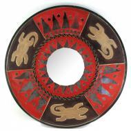 Зеркало мозаичное Arjuna Солнце d-50 cм 30239 Черный (45527)