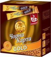 Кава розчинна Чорна Карта Gold 25 x 2 г (8718868866516)