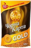Кава розчинна Чорна Карта Gold 190 г (8718868141613)
