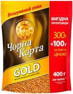 Кава розчинна Чорна Карта Gold 400 г (8718868866394)