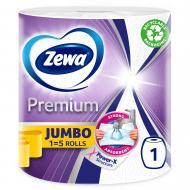 Паперові рушники Zewa Premium Jumbo 230 відривів тришаровий 1 шт.