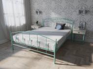 Кровать MELBI Летиция Двуспальная 180*190 см Бирюзовый (КМ-007-01-11бир)