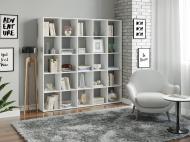 Полка для книг, стеллаж для дома Moreli Juni В1776*Ш1776*Г300 Белый