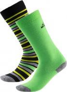 Носки McKinley Rigo jrs 2-pack McK р. 27-30 черно-зеленый