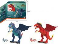 Игрушка Shantou Дракон со световыми и звуковыми эффектами красный и эффектом огня синий