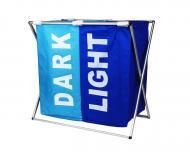 Корзина для белья Stenson R82579 Light&Dark Blue (112114)
