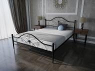 Кровать MELBI Фелиция Двуспальная 180*190 см Черный (КМ-004-02-5чер)