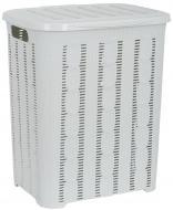 Корзина для белья VIOLET HOUSE WHITE Вязание (6481571)
