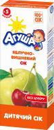Сік Агуша Яблучно-вишневий 200 мл