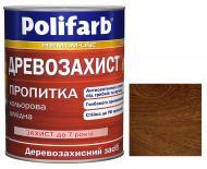 Деревозащитное средство Polifarb Деревозащита орех мат 0,7 кг
