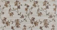 Плитка EcoCeramic Сільвер декор флауер крема 31,6x60