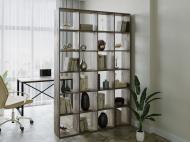 Полка для книг стеллаж для дома на 24 ячеек Rimos 1424x2128x300 мм Аликанте (Z-40_Al)