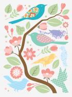 Декоративна наліпка Design stickers Пташки 29,7x42 см