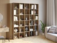 Полка для книг стеллаж для дома на 30 ячеек Rimos 1776x2128x300 мм Аликанте (Z-43_Al)