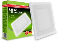 Світильник точковий Eurolamp LED-DLS-6/4 (white) 6 Вт 4000 К білий