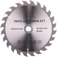 Пиляльний диск A.T.T.  185x30x1.7 Z24