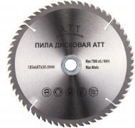 Пиляльний диск A.T.T.  185x30x1.7 Z60
