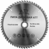 Пиляльний диск A.T.T.  190x30x1.7 Z60