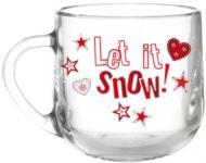 Чашка Let it snow 300 мл Galleryglass