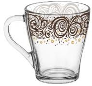 Чашка Грация Лента узор 250 мл Galleryglass