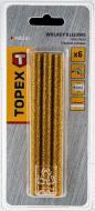 Стрижні клейові Topex золоті 8 мм 6 шт.