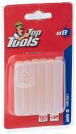 Стрижні клейові Top Tools прозорі 8 мм 12 шт.